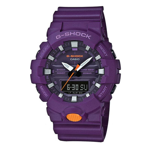 Casio G-Shock GA-800 Analog-Digital Blue Resin Strap Watch GA800SC-6A GA-800SC-6A