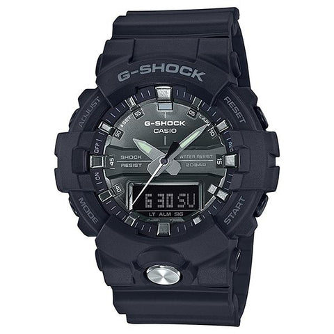 Casio G-Shock Standard Analog-Digital Black Resin Band Watch GA810MMA-1A GA-810MMA-1A