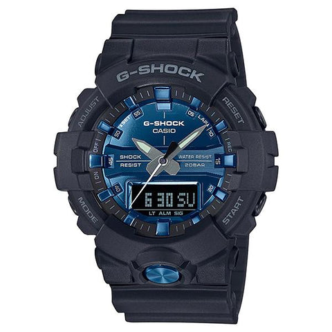 Casio G-Shock Standard Analog-Digital Black Resin Band Watch GA810MMB-1A2 GA-810MMB-1A2