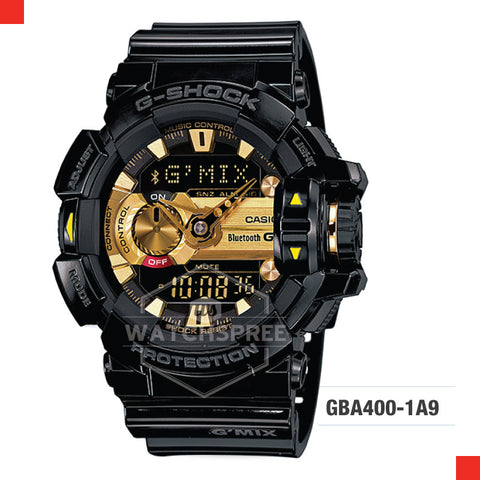 Casio G-Shock Bluetooth G'MIX Watch GBA400-1A9