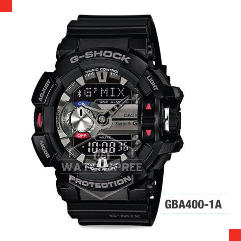Casio G-Shock Bluetooth G'MIX Watch GBA400-1A