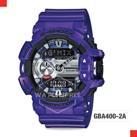 Casio G-Shock Bluetooth G'MIX Watch GBA400-2A