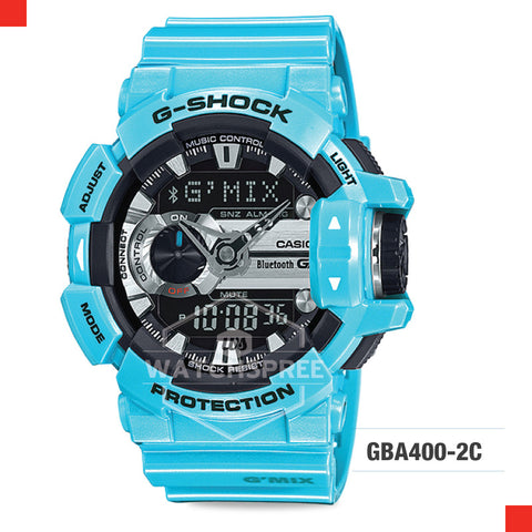 Casio G-Shock Bluetooth G'MIX Watch GBA400-2C