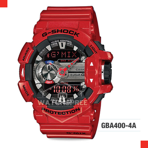 Casio G-Shock Bluetooth G'MIX Watch GBA400-4A