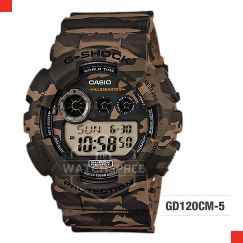 Casio G-Shock Classic Camouflage Watch GD120CM-5D