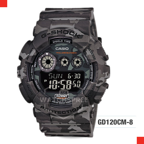 Casio G-Shock Classic Camouflage Watch GD120CM-8D