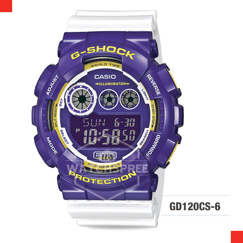 Casio G-Shock Classic Crazy Colour Watch GD120CS-6D
