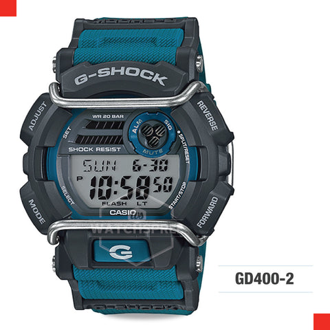 Casio G-Shock Classic Watch GD400-2D