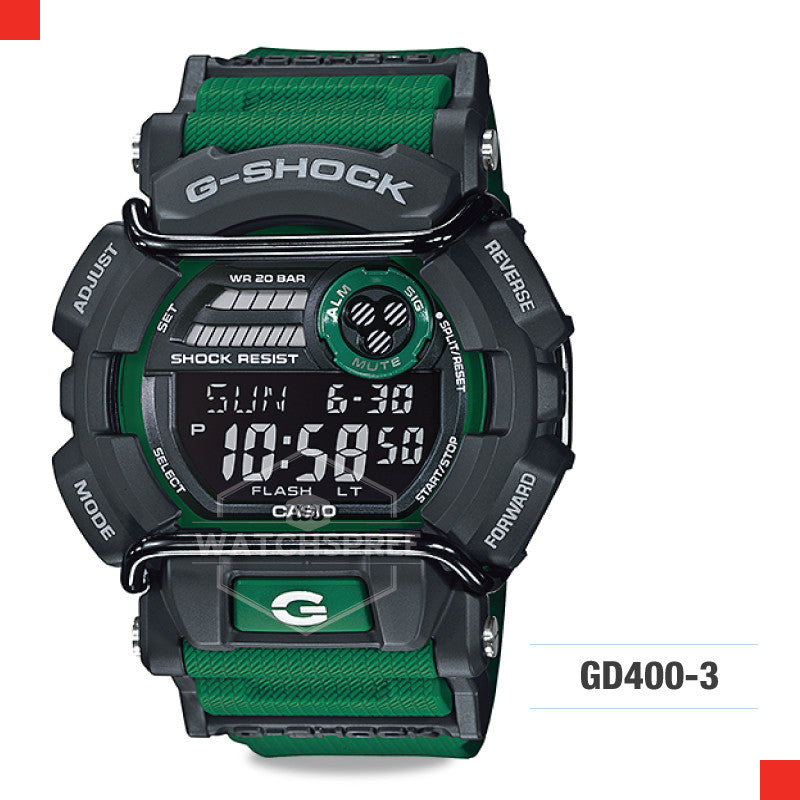 Casio G-Shock Classic Watch GD400-3D