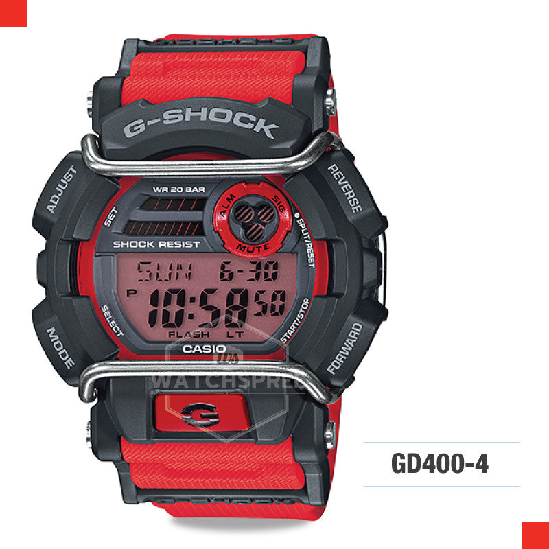 new product 25947 1ea26 Casio G-Shock Classic Watch GD400-4D