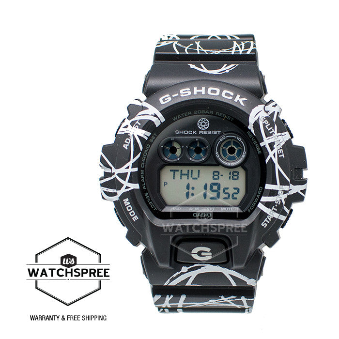 Casio G Shock Futura Graffiti Limited Edition Watch GDX6900FTR-1D