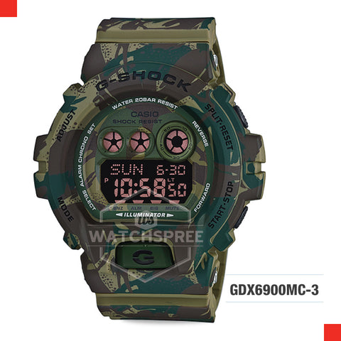 Casio G-Shock Classic Extra Large Series Watch GDX6900MC-3D