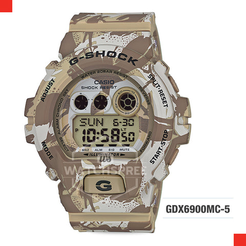 Casio G-Shock Classic Extra Large Series Watch GDX6900MC-5D
