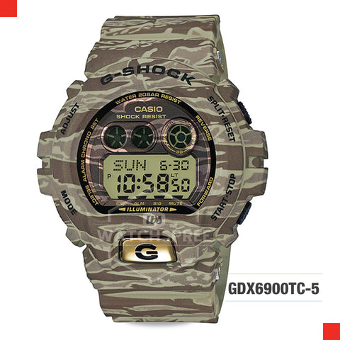 Casio G-Shock Classic Extra Large Series Watch GDX6900TC-5D