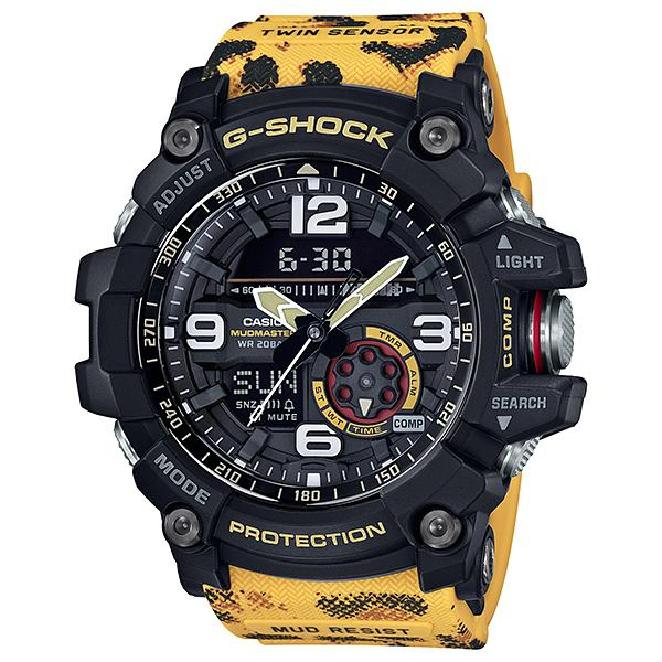 Casio G-Shock Wildlife Promising Collaboration Limited Models Leopard Printed Resin Band Watch GG1000WLP-1A GG-1000WLP-1A