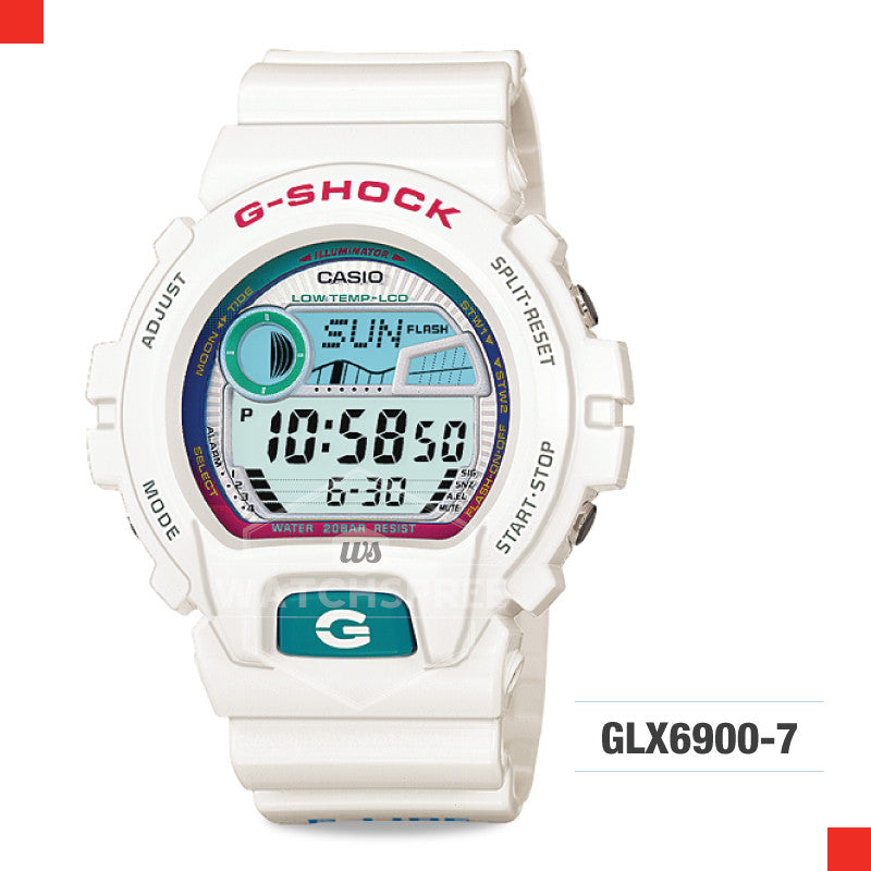 Casio G-Shock G-Lide Watch GLX6900-7D