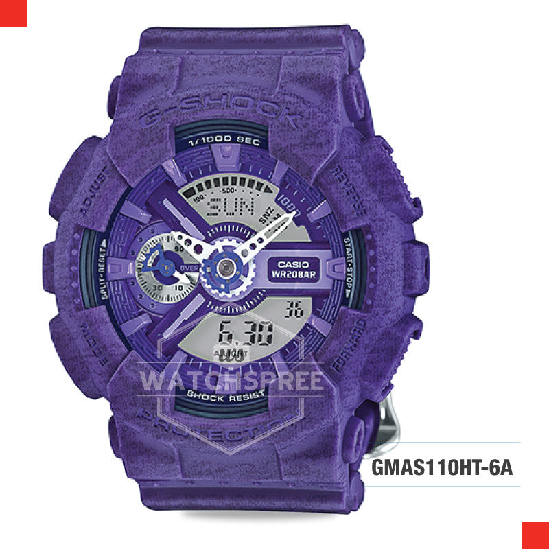 Casio G-Shock S Series Women Watch GMAS110HT-6A