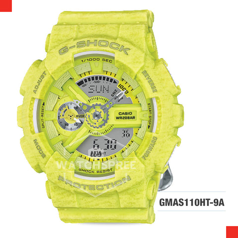 Casio G-Shock S Series Women Watch GMAS110HT-9A