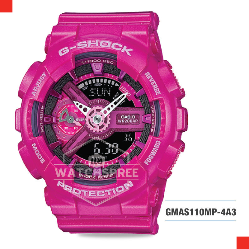 Casio G-Shock S Series Women Watch GMAS110MP-4A3