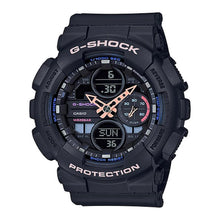 Load image into Gallery viewer, Casio G-Shock S Series GMA-S140 Lineup Black Resin Band Watch GMAS140-1A GMA-S140-1A