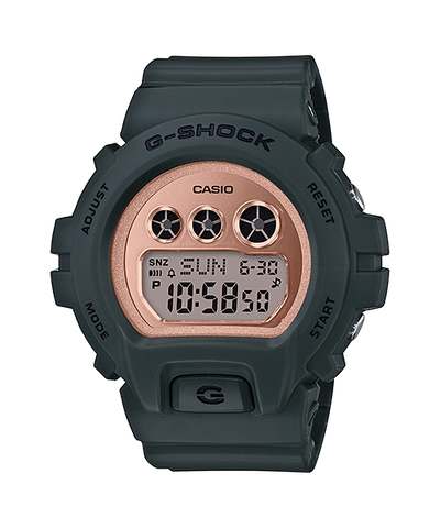 Casio G-Shock S Series Matte Khaki Green Resin Band Watch GMDS6900MC-3D GMDS6900MC-3D GMD-S6900MC-3