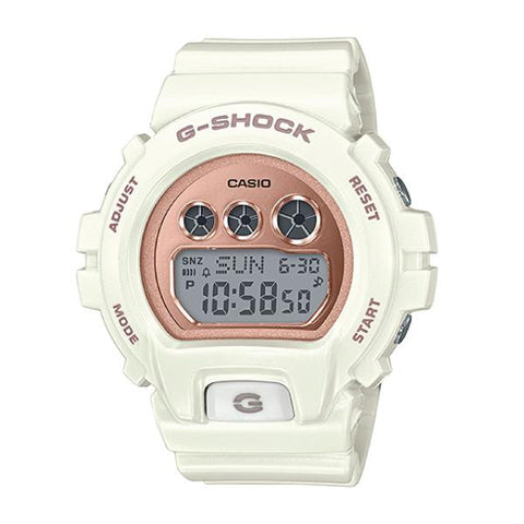 Casio G-Shock S Series Matte White Resin Band Watch GMDS6900MC-7D GMD-S6900MC-7D GMD-S6900MC-7