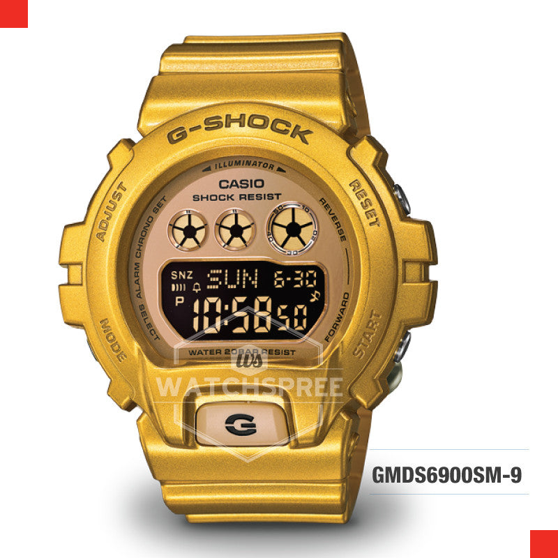 Casio G-Shock S Series Women Camouflage Watch GMDS6900SM-9D