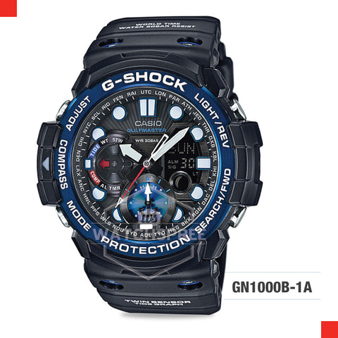 Casio G-Shock Master Of G Gulfmaster Watch GN1000B-1A