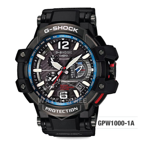 Casio G-Shock Gravitymaster GPW-1000 Black Resin Strap Watch GPW1000-1A