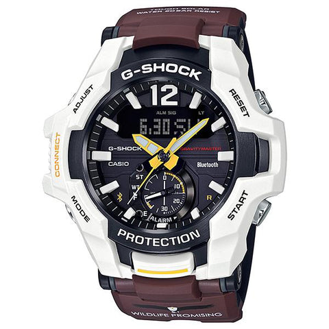 [Limited Edition] Casio G-Shock Wildlife Promising Collaboration Limited Models Brown Resin Band Watch GRB100WLP-7A GR-B100WLP-7A