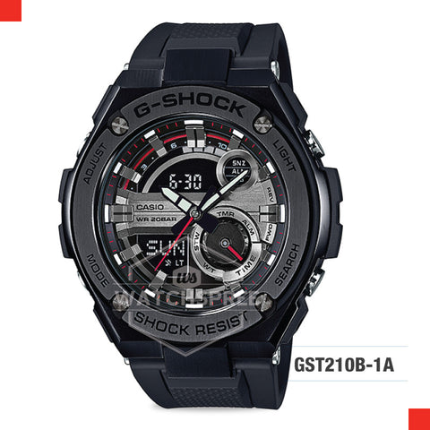 Casio G-Shock G-Steel Watch GST210B-1A