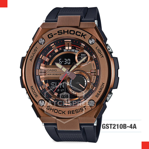 Casio G-Shock G-Steel Watch GST210B-4A