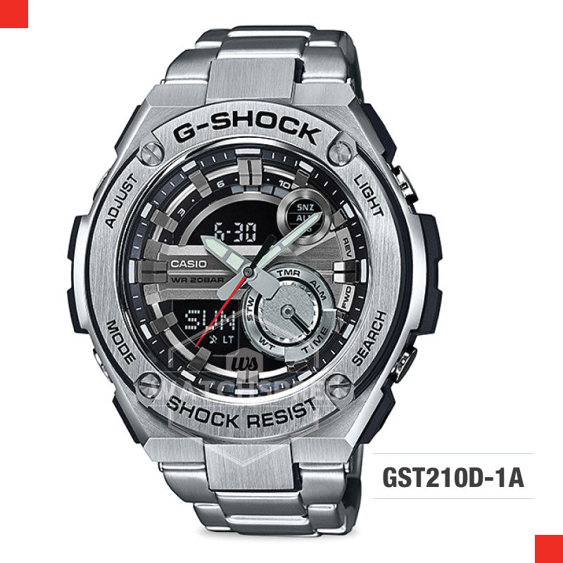 Casio G-Shock G-Steel Watch GST210D-1A