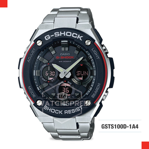 Casio G-Shock G-Steel Watch GSTS100D-1A4