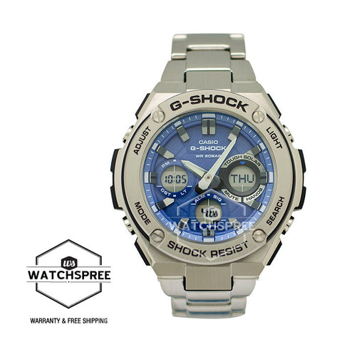 Casio G-Shock G-Steel Series Stainless Steel Strap Watch GSTS110D-2A