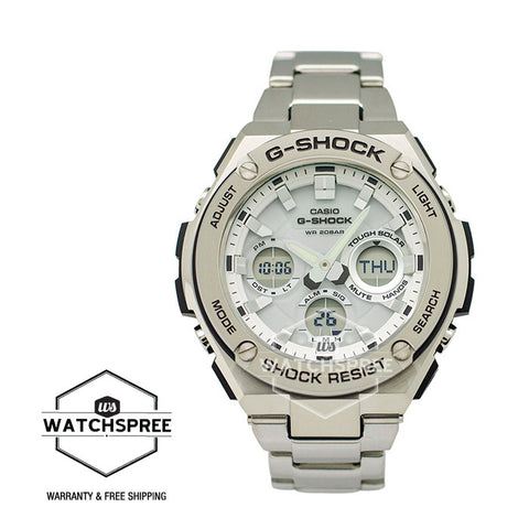 Casio G-Shock G-Steel Series Stainless Steel Strap Watch GSTS110D-7A
