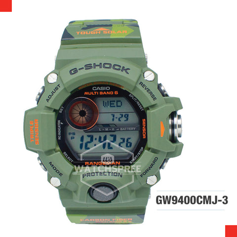 Casio G-Shock Master Of G Rangeman Watch GW9400CMJ-3D