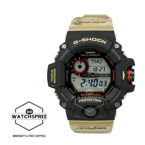 Casio G-Shock Master of G Rangeman Series Camouflage Resin Band GW9400DCJ-1D
