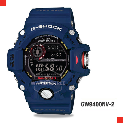 Casio G-Shock Master Of G Rangeman Watch GW9400NV-2D