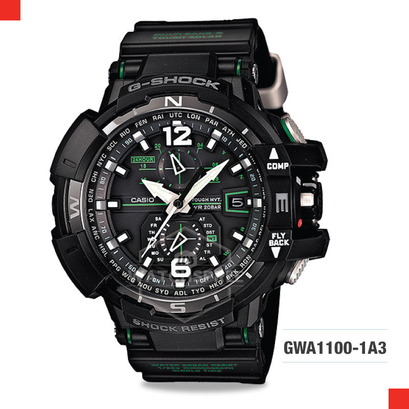 Casio G-Shock Master Of G Gravitymaster Watch GWA1100-1A3