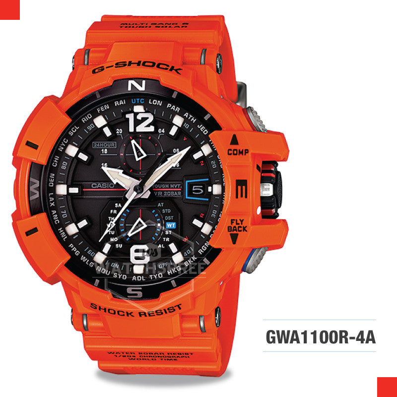 Casio G-Shock Master Of G Gravitymaster Watch GWA1100R-4A