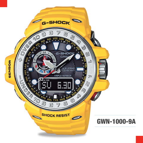 Casio G-Shock Master Of G Gulfmaster Watch GWN1000-9A