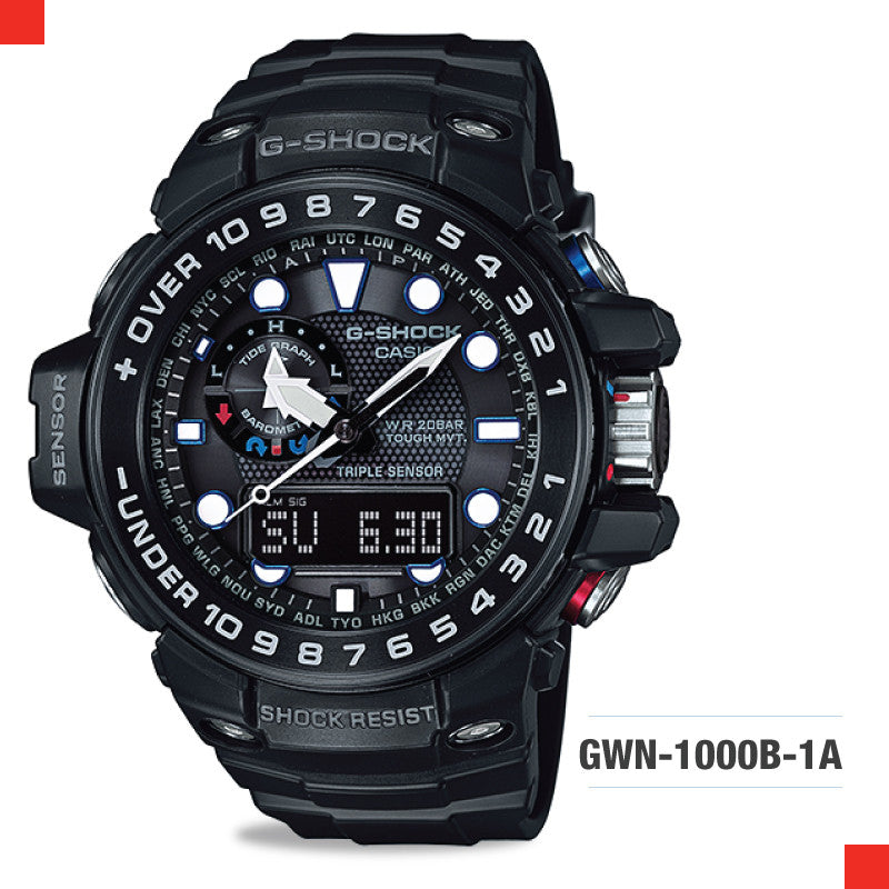 Casio G-Shock Master Of G Gulfmaster Watch GWN1000B-1A
