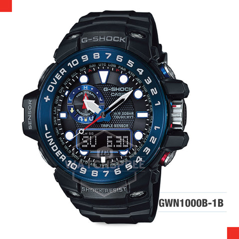 Casio G-Shock Master Of G Gulfmaster Watch GWN1000B-1B