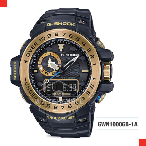 Casio G-Shock Master Of G Gulfmaster Watch GWN1000GB-1A