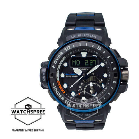Casio G-Shock Gulfmaster Series Black Composite Band Watch GWNQ1000MC-1A2