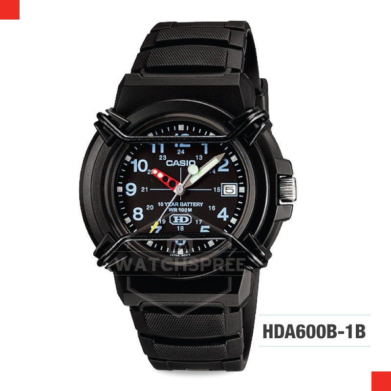 Casio Sports Watch HDA600B-1B