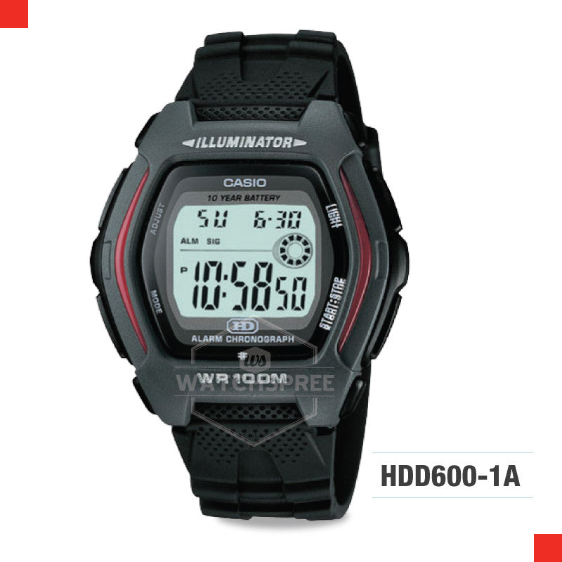 Casio Sports Watch HDD600-1A