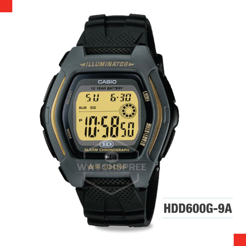 Casio Sports Watch HDD600G-9A
