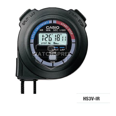 Casio Grey Stopwatch HS3V-1R